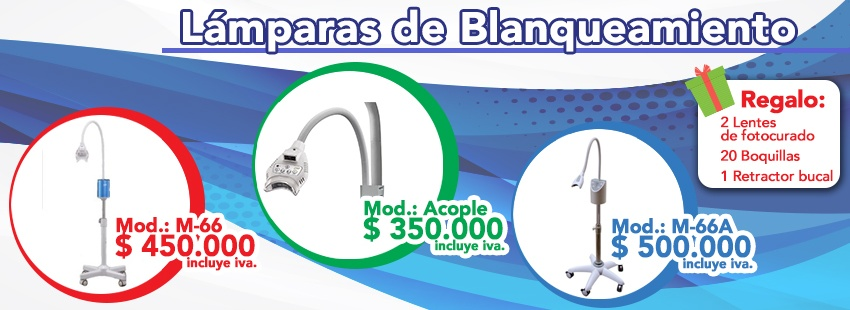 lamp blanqueamiento